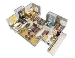 3 bedroom apartment house plans home