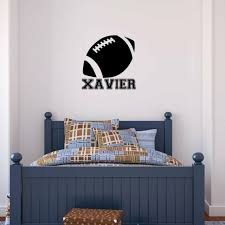 Boys Football Qb Room Decal Quarterback Name Personalized Room Decal Nfl Decal For Sale Online Ebay