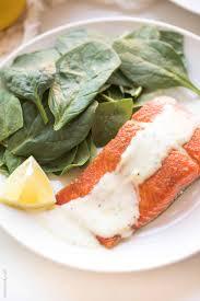 Keto Salmon with Lemon Garlic Aioli ...