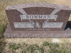 August LeRoy Bowman (1909-1991) - Find A Grave Memorial