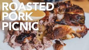 roasted pork picnic shoulder instant