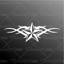 Cool New Nautical Star Tribal Car Decals