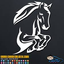 Leaping Horse Car Decal Sticker Animal Decals