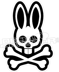 Psycho Bunny Decal Sticker Decal Max