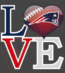 Love New England Patriots Vinyl Sticker Decal Car Truck Boat Wall 5 11 Lnep1 Ebay