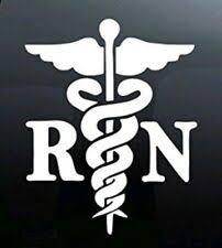 Nurse Decal For Sale In Stock Ebay