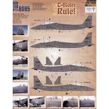 Two Bobs 48169 Mcdonnell Douglas F 15e T Bolts Rule Mou Decals 1 48 The Largest Choice With 1001hobbies Com