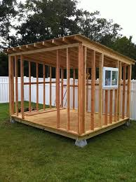 shed building made easy with images