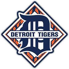 Amazon Com Skyhighprint Detroit Tigers Mlb Sport Decor Vinyl Print Sticker 5 X 5 Kitchen Dining