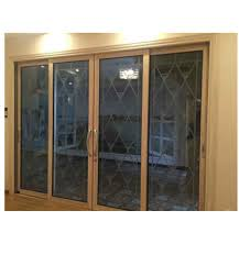 tempered glass floor to ceiling windows