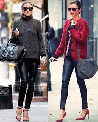 8 best faux leather leggings for women