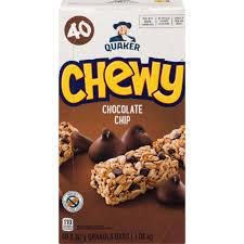 chewy granola bars chocolate chip