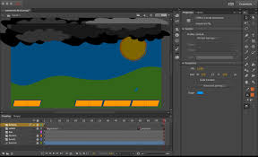 using html5 canvas in animate cc