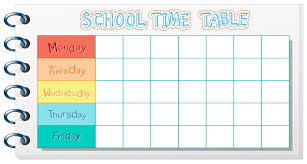 Image result for timetable banner