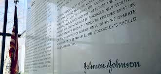 our credo johnson johnson