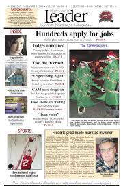 Leader Dec 3 2008 by Inter-County Leader - issuu