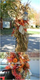 20 Diy Outdoor Fall Decorations That Ll Beautify Your Lawn And Garden Diy Crafts