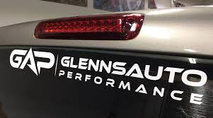 Gap Vinyl Decal 24 White Glenn S Auto Performance