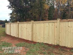 Residential Wood Fencing Fortress Fencing Wood Fence Fence Design Fence