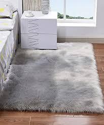 faux fur sheepskin rugs fluffy rug
