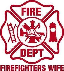 Amazon Com Firefighter Sticker 4 X 4 Firefighters Wife Maltese Cross Exterior Window Decal Automotive
