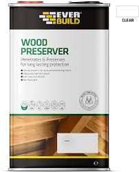 Everbuild Quick Drying Long Lasting Wood Preserver Clear 1 Litre Amazon Co Uk Diy Tools