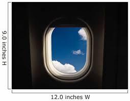 Airplane Window Wall Decal Wallmonkeys Com