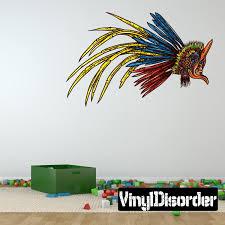 Aztec Eagle Warrior Wall Decal Vinyl Car Sticker Uscolor001 25 Inches Walmart Com Walmart Com