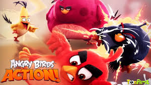 Angry Birds Movie Game Angry Birds Action! - YouTube