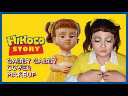 toy story 4 gabby gabby cover makeup