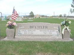 Lilly Adeline Peterson Beutler (1927-2001) - Find A Grave Memorial