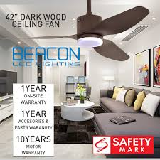 42 48 ceiling fan with led light and