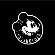 Walt Disney Annual Passholder Decal Etsy