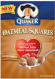 quaker golden maple oatmeal squares