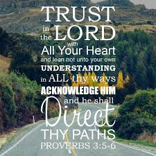 Proverbs 3:5-6 Trust in the Lord - Free Bible Verse Art Downloads ...