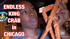 ENDLESS KING CRAB LEGS in CHICAGO - YouTube