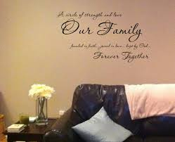 Our Family Together Forever Wall Decals Trading Phrases