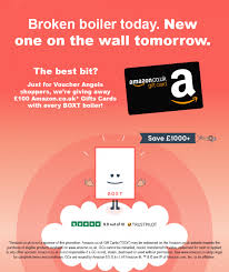 get a 100 amazon co uk gift card when
