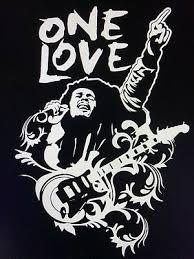 Bob Marley One Love Decal Sticker Buffalo Soldier One Love Peace 5 75 X 8 3 Ebay