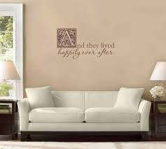 And They Lived Happily Ever After Wall Decal Tweet Heart Home Design