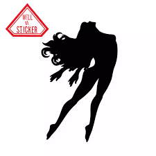 4712 Fitness Gym Sexy Girls Figure Healthy Sport Car Sticker Funny Vinyl Decal Car Window Bumper Car Stickers Aliexpress