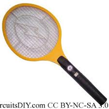 circuit used in mosquito racket