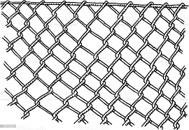 Wire Mesh Fence Drawing Stock Illustration Download Image Now Istock