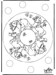 Mandala Paard 1 Dierenmandala S