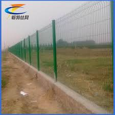 China Hot Sale Metal Wire Garden Or Railway Fence For Protection China Railway Fence Garden Fence