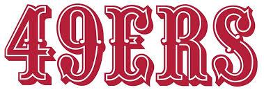 San Francisco 49ers Logo Die Cut Vinyl Graphic Decal Sticker Nfl Football