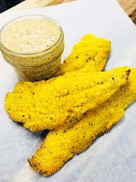 Air Fryer Catfish with Creole Mustard ...