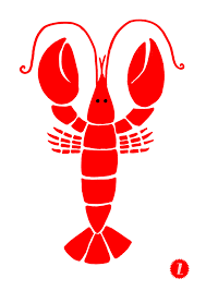 Lobster drawing ...