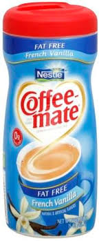 coffee mate fat free french vanilla