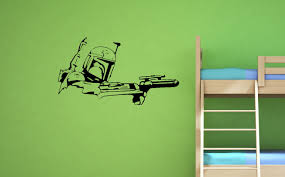 Boba Fett Wall Decal Star Wars Wall Decals Star Wars Wall Decal Wall Decals Wall